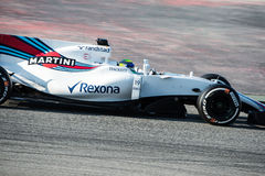 FELIPE MASSA WILLIAMS - F1 TEST DAYS 2017 Stock Photography