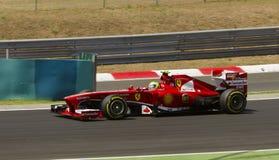 Felippe Massa, Ferrari Royalty-vrije Stock Afbeeldingen
