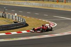 Felippe Massa, Ferrari Royalty-vrije Stock Afbeelding