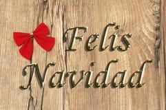 Felis Navidad Zdjęcie Royalty Free