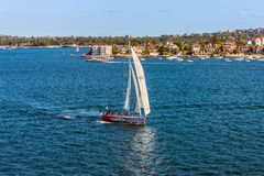 Felix Bay sailing boat, Sydney, Australia Royalty Free Stock Photo