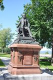 Felix Gatineau Statue. In Quebec City, Canada Royalty Free Stock Photo