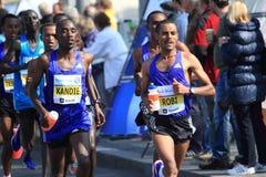 Felix Kipchirchir Kandie - Prague marathon 2015 Royalty Free Stock Images