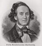 Felix Mendelssohn Stock Image