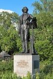 Felix Mendelssohn Monument in Dusseldorf, Duitsland Royalty-vrije Stock Afbeelding