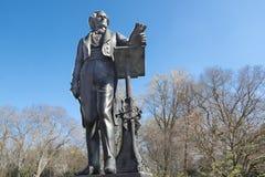 Felix Menedelssohn Statue, Dusseldorf stock foto's