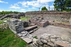 Felix Romuliana, ancient Roman archeological site, Serbia stock photos