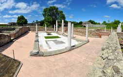 Felix Romuliana, ancient Roman archeological site, Serbia royalty free stock images