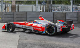 Felix Rosenqvist - Paris ePrix 2017 Stock Photography