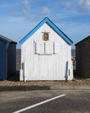 Felixstowe Beach Hut. Beach Hut at Felixstowe, Suffolk, UK Royalty Free Stock Images