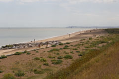 Felixstowe beach Stock Images