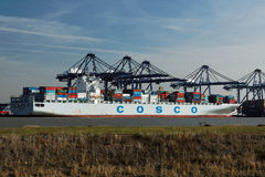 Felixstowe Container Port,UK Stock Photography