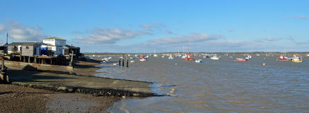 Felixstowe Ferry Royalty Free Stock Photography