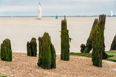Felixstowe hamn, Suffolk, England, UK arkivfoto
