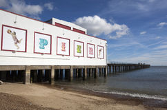 Felixstowe Pier, Suffolk, England Royalty Free Stock Photo