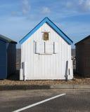 Felixstowe plaży buda Obrazy Royalty Free