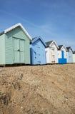 Felixstowe plaży budy Obraz Royalty Free