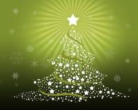 Feliz árbol de navidad Imágenes de archivo libres de regalías