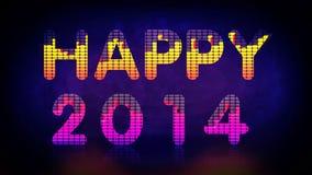 2014 feliz Fotografía de archivo libre de regalías