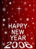 Feliz Año Nuevo 1 ilustración del vector