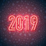 Feliz Año Nuevo 01 ilustración del vector
