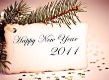 Feliz Año Nuevo. Imagen de archivo libre de regalías
