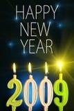 Feliz Año Nuevo 2009 Fotos de archivo libres de regalías