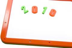 Feliz Año Nuevo 2010 Fotografía de archivo libre de regalías