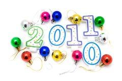 Feliz Año Nuevo 2011 Fotos de archivo libres de regalías