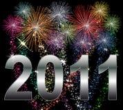 Feliz Año Nuevo 2011 libre illustration