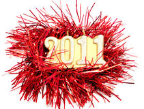 Feliz Año Nuevo 2011 Imagen de archivo libre de regalías