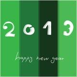 Feliz Año Nuevo 2013 Imagen de archivo libre de regalías