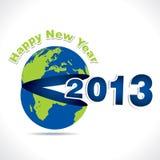 Feliz Año Nuevo 2013 Fotografía de archivo libre de regalías