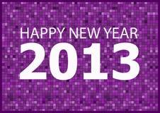Feliz Año Nuevo 2013 Ilustración del Vector