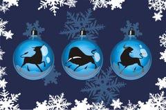 Feliz Año Nuevo 3 Imagen de archivo libre de regalías