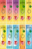 Feliz Año Nuevo 2014 Imagen de archivo