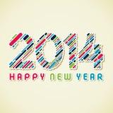 Feliz Año Nuevo 2014 Imagenes de archivo