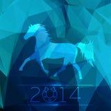 ¡Feliz Año Nuevo 2014! Fotografía de archivo libre de regalías