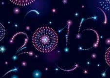 ¡Feliz Año Nuevo 2015! Imagen de archivo libre de regalías