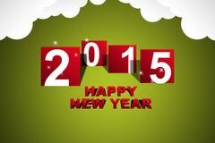 Feliz Año Nuevo 2015 Imagenes de archivo