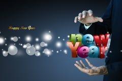 Feliz Año Nuevo 2015 Fotografía de archivo