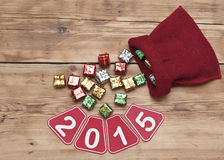 Feliz Año Nuevo 2015 Fotografía de archivo libre de regalías