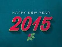 Feliz Año Nuevo 2015 Imagen de archivo