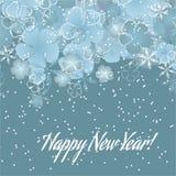 ¡Feliz Año Nuevo 2015! stock de ilustración