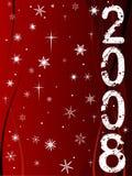 Feliz Año Nuevo 5 ilustración del vector