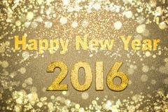 Feliz Año Nuevo 2016 Imagen de archivo libre de regalías