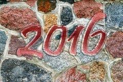 Feliz Año Nuevo 2016 Foto de archivo