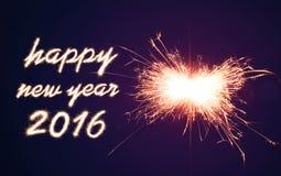 Feliz Año Nuevo 2016 Fotos de archivo libres de regalías