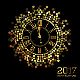 Feliz Año Nuevo - 2017 Fotografía de archivo libre de regalías
