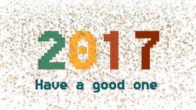 Feliz Año Nuevo almacen de metraje de vídeo
